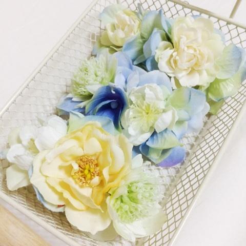 お花のバレッタ