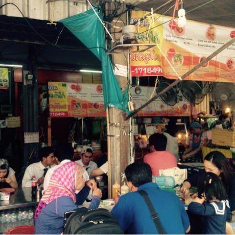 バンコクの市場で世界一周気分11