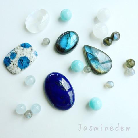 天然石セットとマクラメ作品の限定販売2