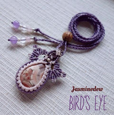 Birds-Eye-Jasper-マクラメペンダント1