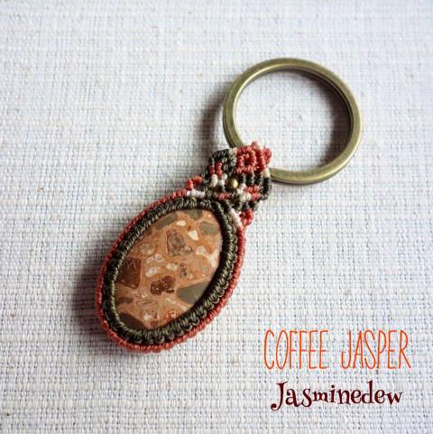 Coffee-Jasper-のキーリング