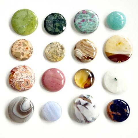 惑星みたいな天然石たち1