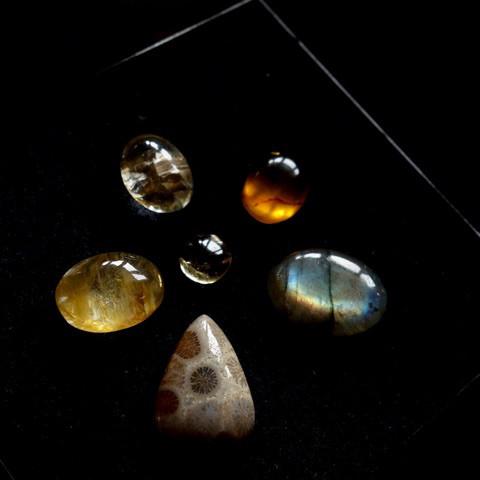 秋の天然石セット